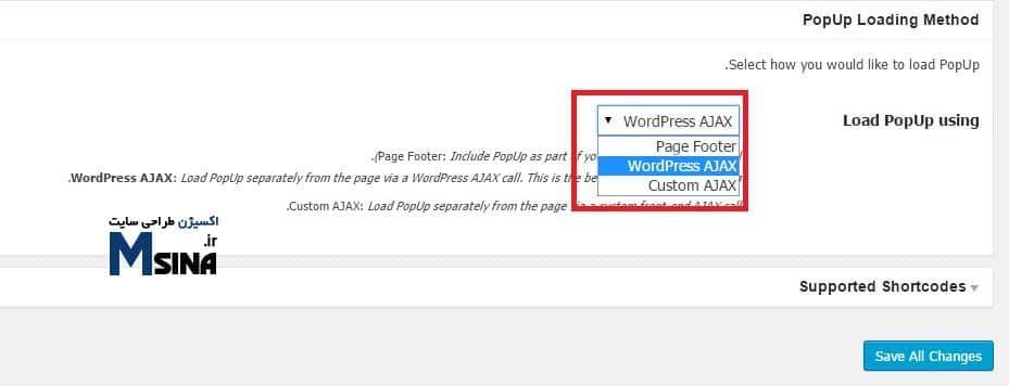 WordPress PopUp 2